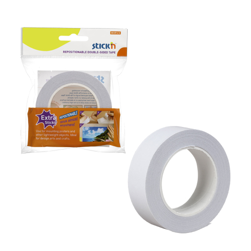 25mmx12m Repositionable Double Sided Tape